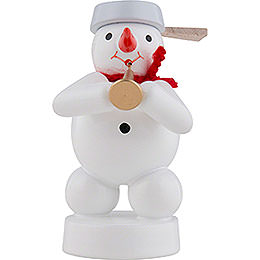 Snowman Musician with Tuba  -  8cm / 3 inch