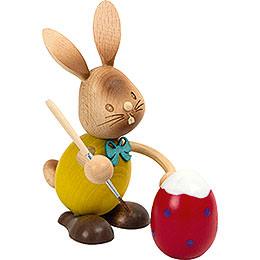 Snubby Bunny Egg Painter  -  12cm / 4.7 inch