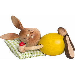 Snubby Bunny Sleepy Head  -  12cm / 4.7 inch