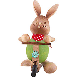 Snubby Bunny with Scooter  -  12cm / 4.7 inch