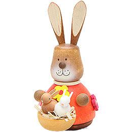 Teeter Bunny with Babys  -  9,8cm / 3.9 inch
