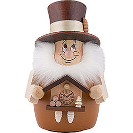 Teeter Gnome Black Forester Natural  -  12cm / 4.7 inch
