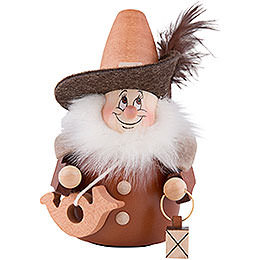 Teeter Gnome Night Watch Man Natural  -  13cm / 5.1nch