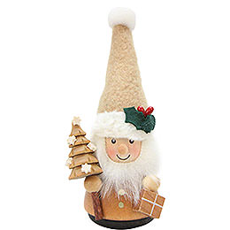 Teeter Man Santa Claus Natural  -  11,5cm / 4.5 inch