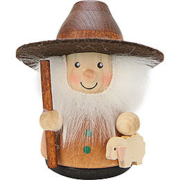 Teeter Man Shepherd Natural  -  7,5cm / 3 inch