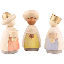 The Three Wise Men  -  Modern Glazed  -  8,5cm / 3.3 inch