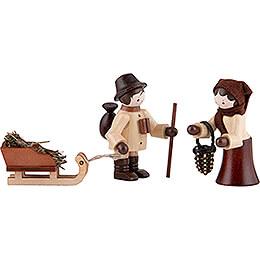 Thiel - Figuren Wildfütterung  -  natur  -  3 - teilig  -  5,5cm
