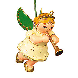 Tree Ornament  -  Angel with Clarinet  -  6cm / 2,5 inch