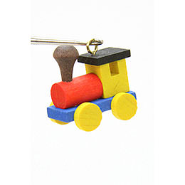 Tree Ornament  -  Engine  -  2,4 / 2,3cm  -  1x1 inch