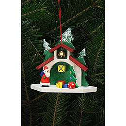 Tree Ornament  -  Forest Chapel with Niko  -  9,2x8,7cm / 4x3 inch