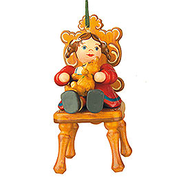 Tree Ornament  -  My Favourite Teddy  -  7,5cm / 3 inch