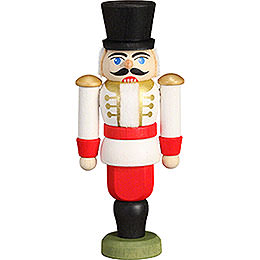 Tree Ornament  -  Nutcracker  -  Hussar White  -  9cm / 3.5 inch