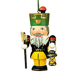 Tree Ornament  -  Nutcracker Miner  -  7cm / 3 inch