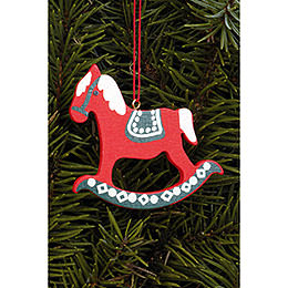 Tree Ornament  -  Pferd Gross  -  6,2x6,5cm / 2.4x2.5 inch