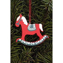 Tree Ornament  -  Pferd Gross  -  6,2x6,5cm / 2.4x2.5 inch