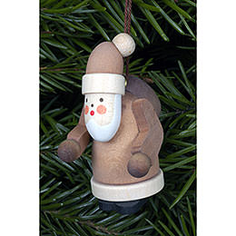 Tree Ornament  -  Santa Claus Natural Colors  -  2,5x5,0cm / 1x2 inch
