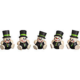 Tree Ornament  -  Schorchy  -  5 pcs.  -  4cm / 2 inch