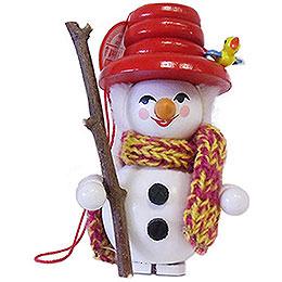 Tree Ornament  -  Snowman  -  9cm / 3.5 inch