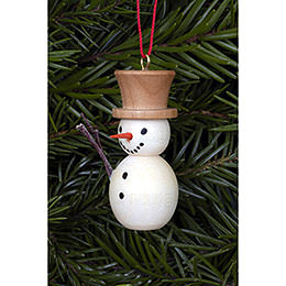 Tree Ornament  -  Snowman Natural Colors  -  2,0x4,0cm / 1x2 inch
