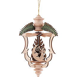 Tree Ornament  -  Tannenzweig Himmelsreiter  -  13cm / 5.1 inch