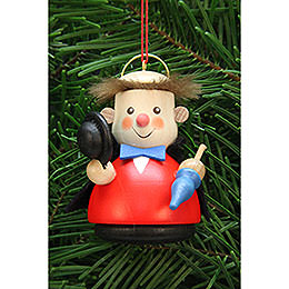Tree Ornament  -  Teeter Man Arthur, the Angel  -  7,5cm / 3 inch
