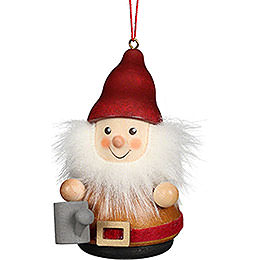 Tree Ornament Teeter Man Dwarf with Watering Can  -  8cm / 3.1 inch