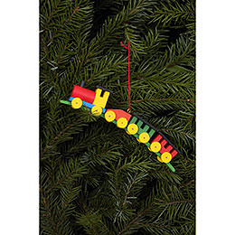Tree Ornament  -  Train  -  13,0x2,6cm / 5x1 inch