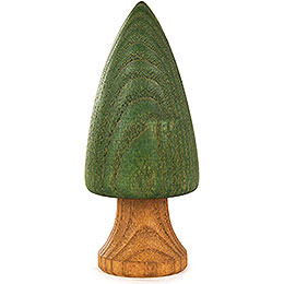 Tree with Trunk  -  Green  -  9cm / 3.5 inch