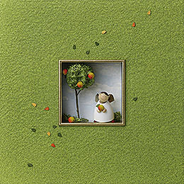 "Wandbild ""Für Geniesser""  -  18x18x5cm"