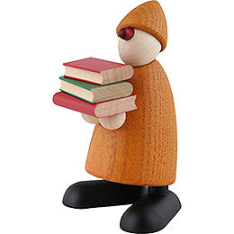 Well - Wisher Billy with Books, Yellow  -  9cm / 3.5 inch