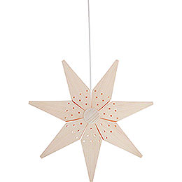 Window Picture  -  Christmas Star  -  39cm / 15.4 inch