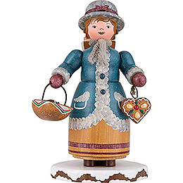 Winter Children Gingerbread Vendor  -  20cm / 7.9 inch