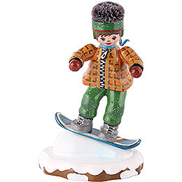 Winter Children Snowboarder -  8cm / 3 inch