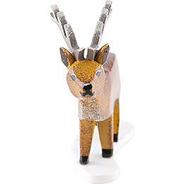 Winter Kids Set of Four Stag  -  6cm / 2,4 inch