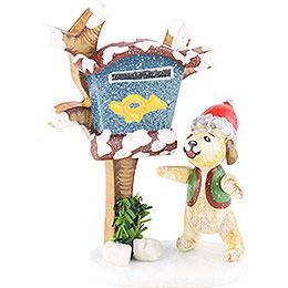 Winterkinder 3er Set Zeitungsbote  -  6cm