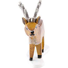 Winterkinder 4er Set Hirsch  -  6cm
